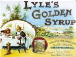 Lyle's Syrup Island Children Vintage Style Metal Wall Sign Plaque 15X20cm